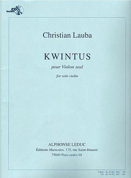 Kwintus - Violon Seul (Avec CD)