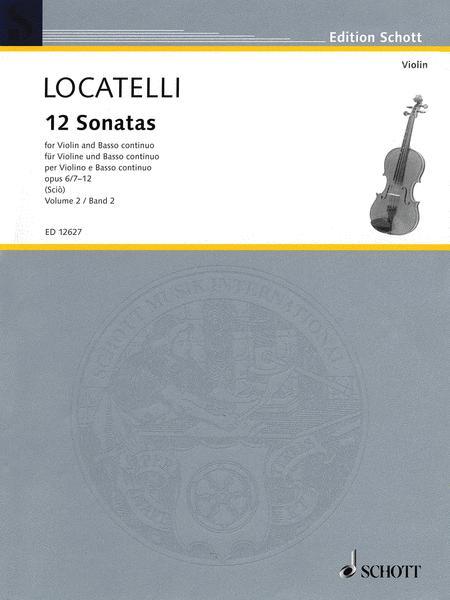 12 Sonatas op. 6/7-12 Vol. 2