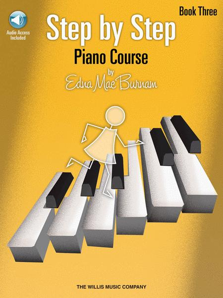 Step by Step Piano Course - Book 3 with CD