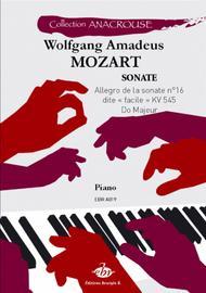 Allegro de la sonate no. 16 dite