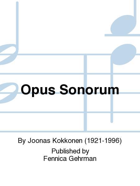 Opus Sonorum