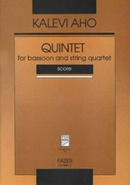 Quintet For Bassoon And String Quartet
