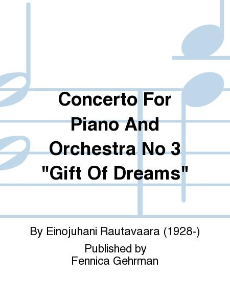 Concerto For Piano And Orchestra No 3