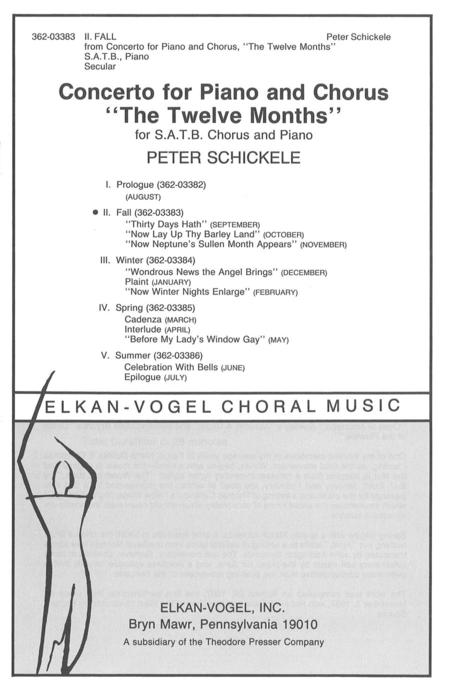 Concerto For Piano And Chorus
