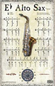 Instrumental Poster Series - Alto Sax