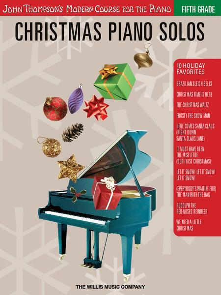 Christmas Piano Solos - Fifth Grade (Book Only)
