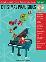 Christmas Piano Solos - Third Grade (Book/CD Pack)