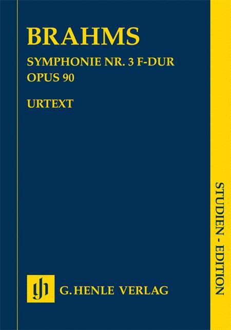 Johannes Brahms - Symphony No. 3 in F Major Op. 90