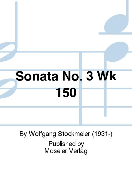 Sonata No. 3 Wk 150