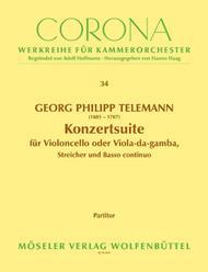 Konzertsuite D-Dur TWV 55:D6