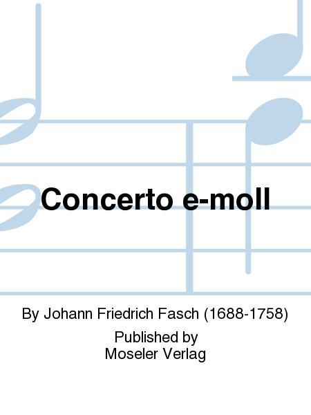 Concerto e-moll