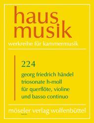 Triosonate h-Moll op. 2,1b HWV 386b