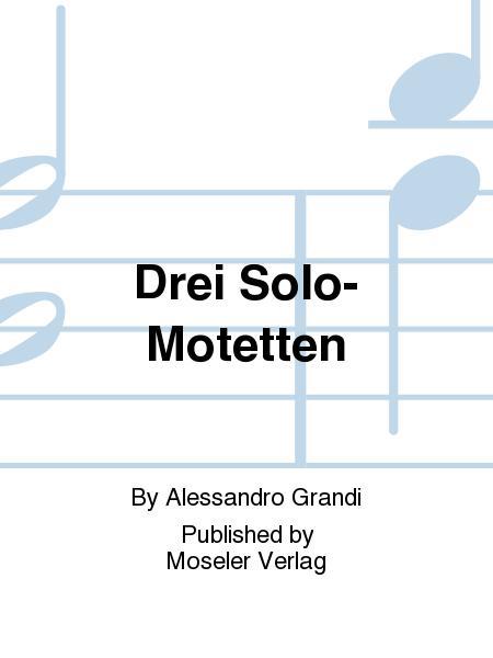 Drei Solo-Motetten