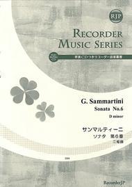 Sonata No. 6 in D minor