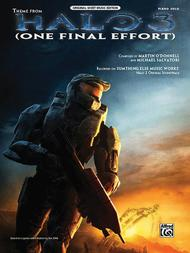 Theme From Halo 3 (One Final Effort) Sheet Music By Martin O