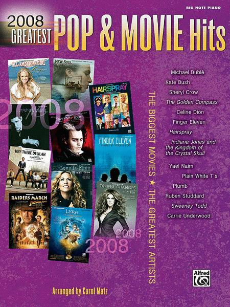 2008 Greatest Pop & Movie Hits