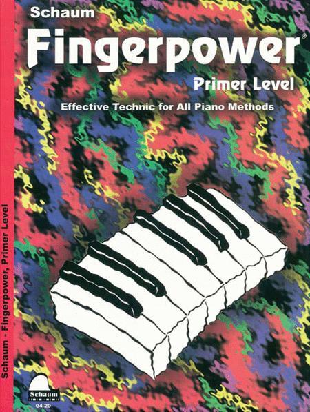 Schaum Fingerpower, Primer Level (Book)