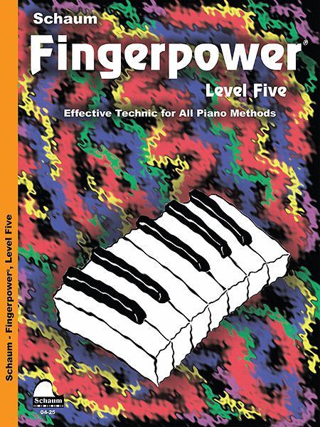 Schaum Fingerpower, Level Five (Book)