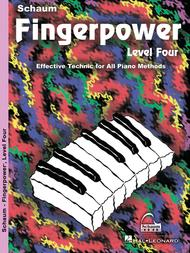 Schaum Fingerpower, Level Four (Book)