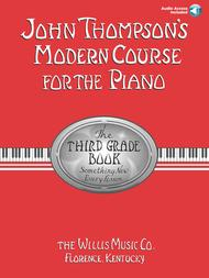 John Thompson's Modern Course for the Piano - Third Grade (Book/Audio)