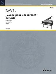 Pavane Pour Une Infante Defunte (piano trio)