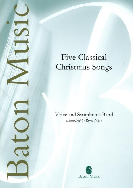 preview five classical christmas songs by traditional bfbm290 score sheet music plus - Classical Christmas Songs