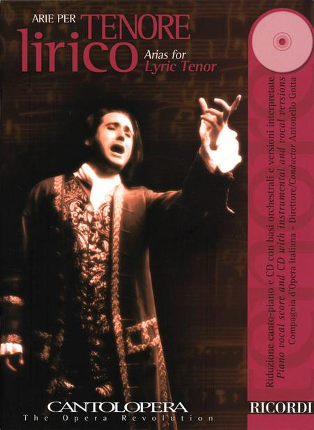 Arias for Lyric Tenor