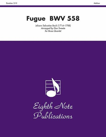 Fugue, BWV 558