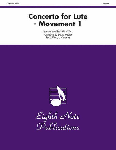 Concerto for Lute (Movement 1)