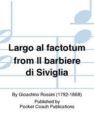Largo al factotum from Il barbiere di Siviglia