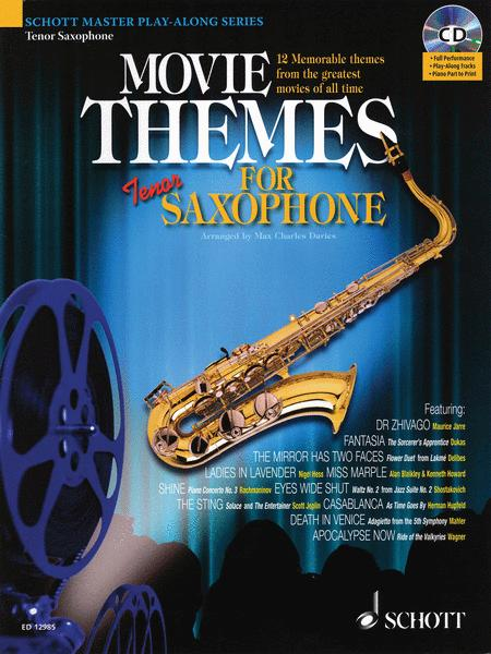 Movie Themes for Tenor Saxophone