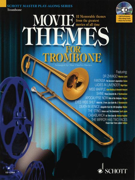 Movie Themes for Trombone