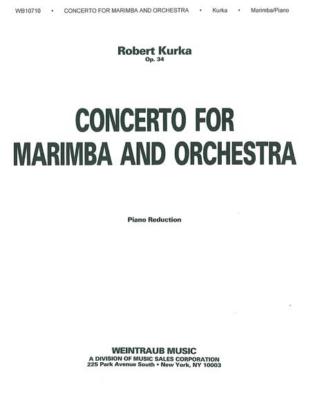 Concerto for Marimba and Orchestra, Op. 34