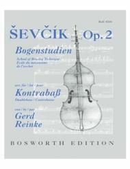 Sevcik School of Bowing Technique, Op. 2 - Double Bass