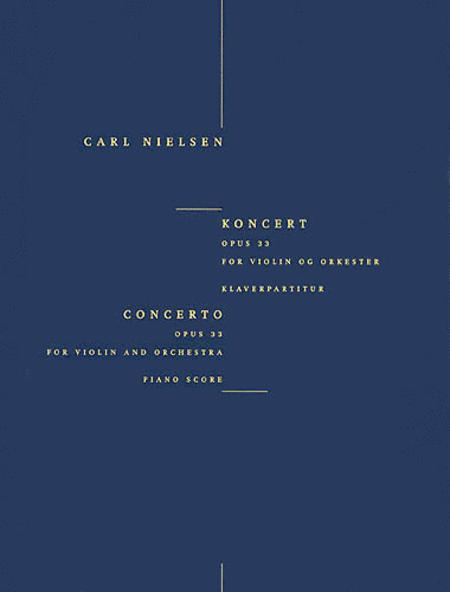 Concerto for Violin and Orchestra Op. 33