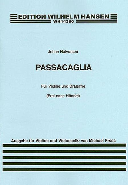 Passacaglia for Violin and Cello