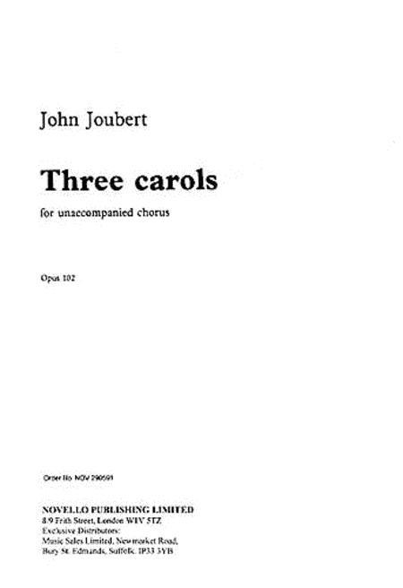 Three Carols Op.102