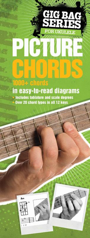 Gig Bag Series for Ukulele - Picture Chords