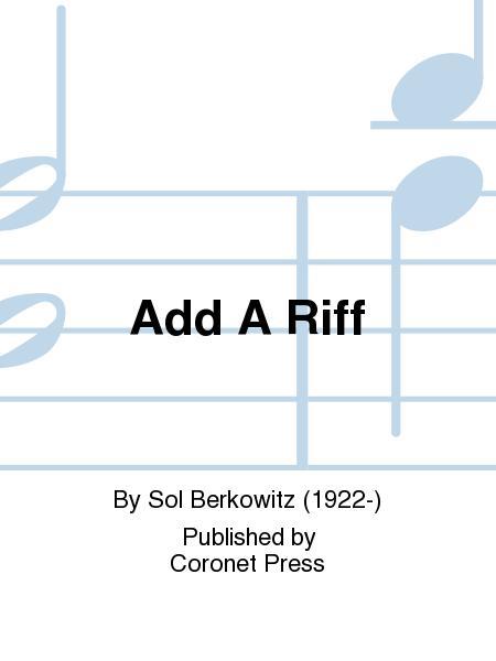 Add A Riff