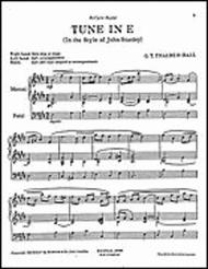 Tune in E for Organ