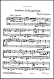 Elizabeth Maconchy Notebook For Harpsichord