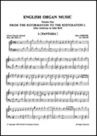 Anthology Of English Organ Music Book 01