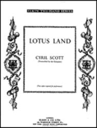 Lotus Land Op.47 No.1 For Two Pianos