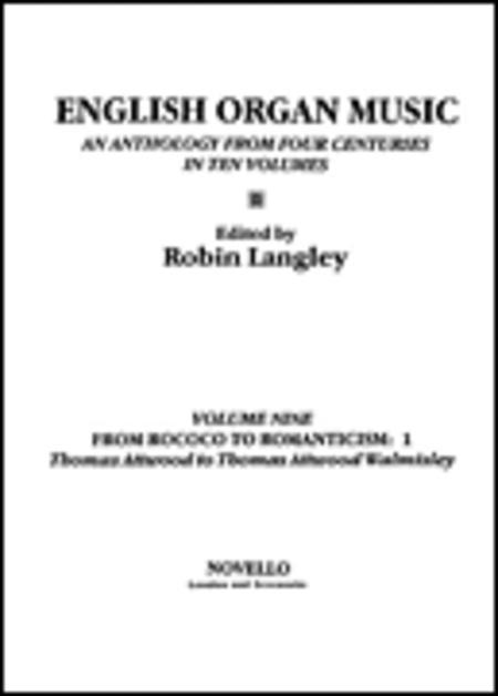 English Organ Music Volume Nine