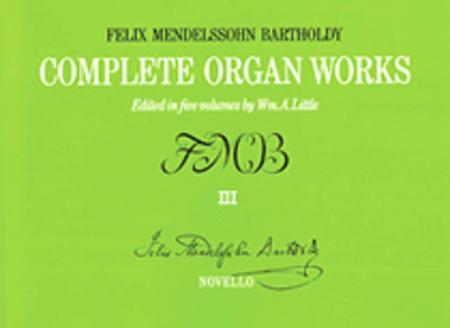 Complete Organ Works - Volume III