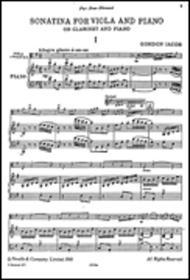 Sonatina for Viola and Piano