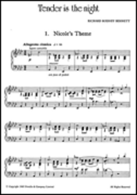 Tender Is The Night For Piano