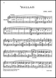 Ballad for Piano