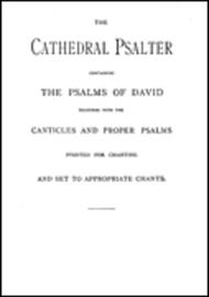The Old Cathedral Psalter Psalms Of David