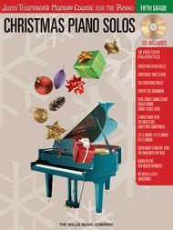 Christmas Piano Solos - Fifth Grade (Book/CD Pack)